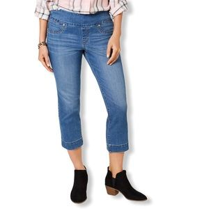 Style & Co Pull-on Capri Jeans